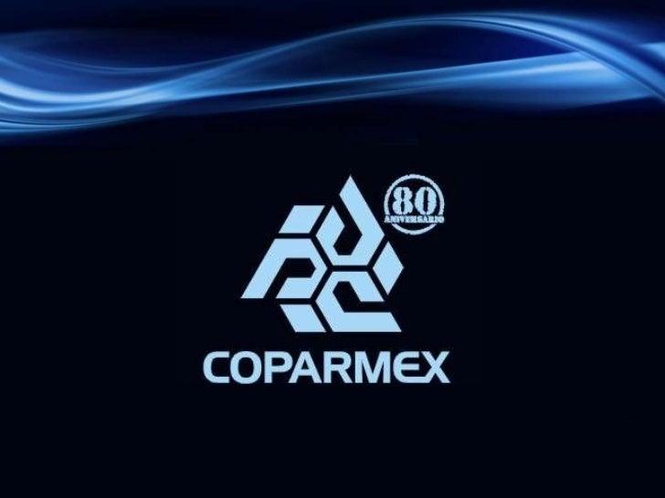Coparmex 2011