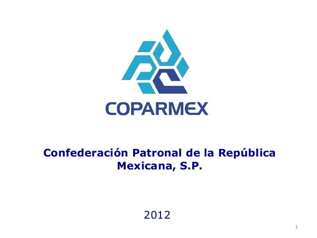 Coparmex es 2012