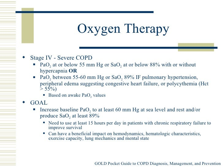 Guidelines For Oxygen Therapy