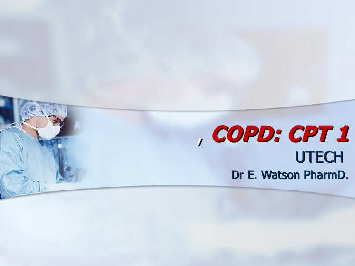 Copd lecture notes