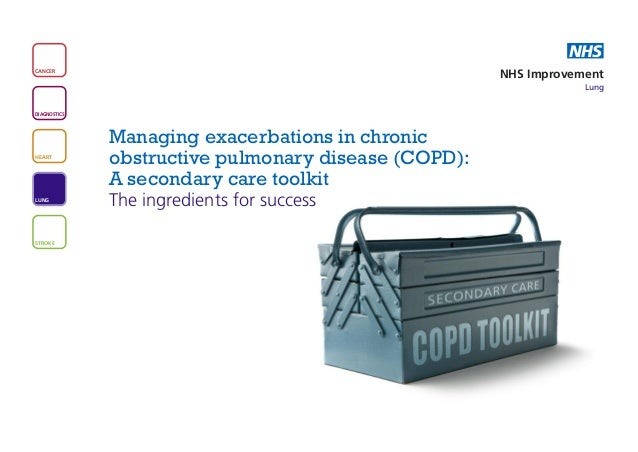 Managing exacerbations in chronic obstructive pulmonary disease (COPD): A secondary care toolkit The ingredients for success
