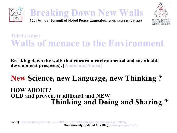 <ul><li>[more]:  New Renaissance 3 ,  UN COP15 – UNFCCC side events Copenhagen 2009 ,    Continuously updated this Blog:  ...