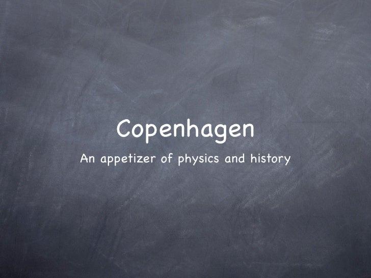 Copenhagen Presentation 100225