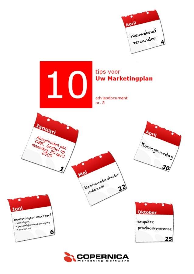 Copernica Marketingplan