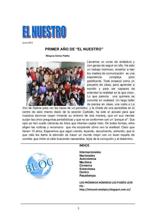El Nuestro 06-2013