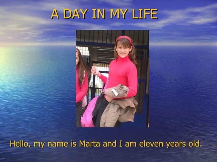 Copia de martha. a day in the life