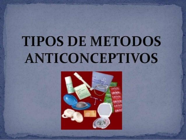"""La anticoncepción o """"control de la natalidad"""" es lainterferencia en el acto marital para prevenir laconcepción.Para esto d..."""