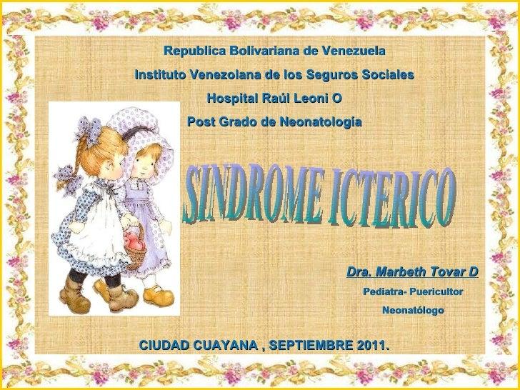 Sindrome Icterico.