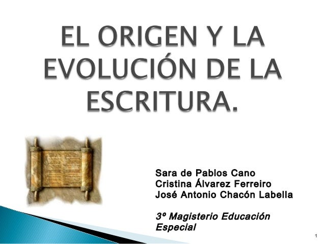 1 Sara de Pablos Cano Cristina Álvarez Ferreiro José Antonio Chacón Labella 3º Magisterio Educación Especial