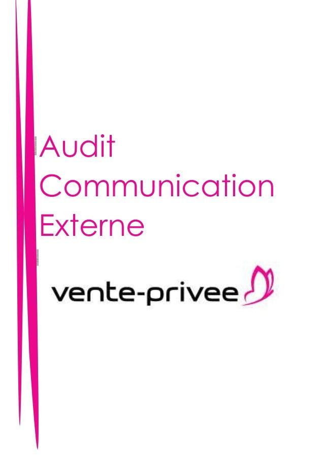 Audit Communication Externe