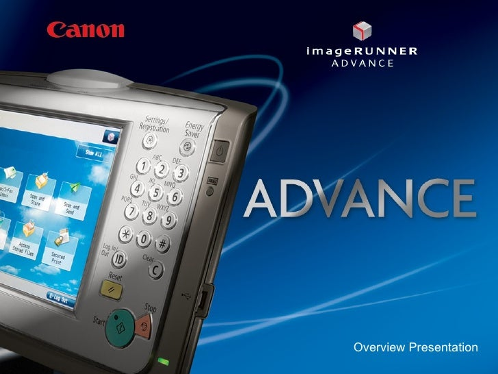 Canon imageRUNNER ADVANCE Series