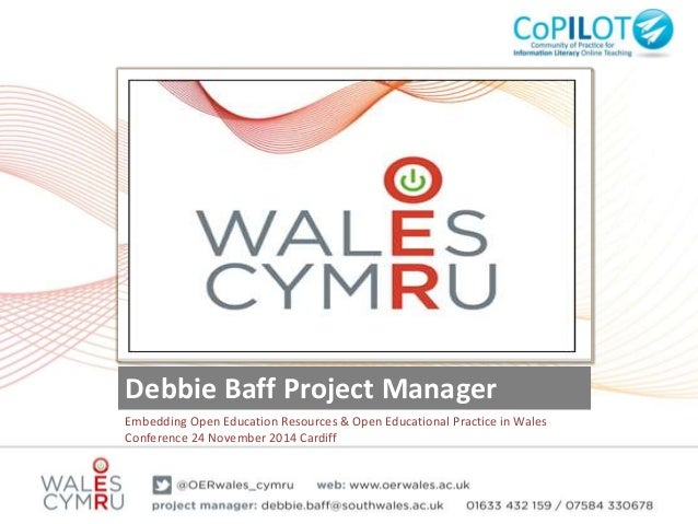 CoPilot Open Educational Resources Event – Cardiff Nov 2014