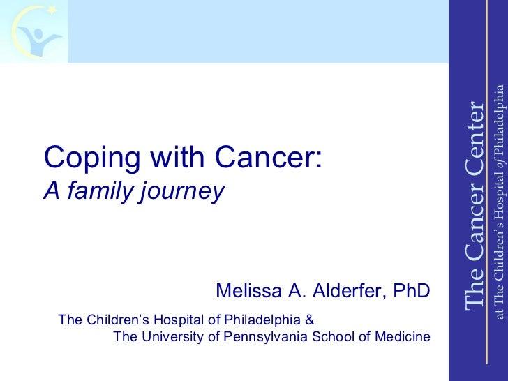 at The Children's Hospital of Philadelphia                                                             The Cancer CenterCo...