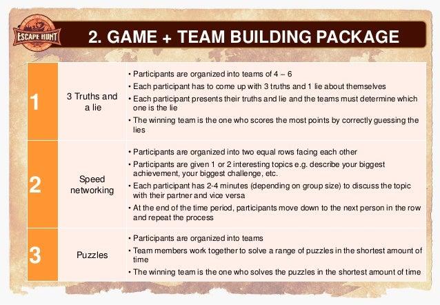 exle team building images