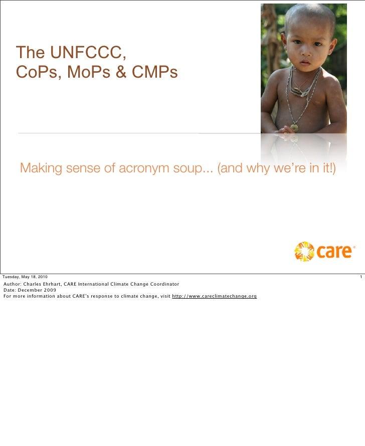 Understanding UNFCCC Conferences of Parties