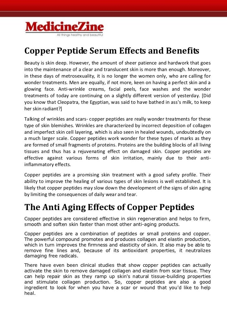 Copper Peptide Serum Effects and BenefitsBeauty is skin deep. However, the amount of sheer patience and hardwork that goes...