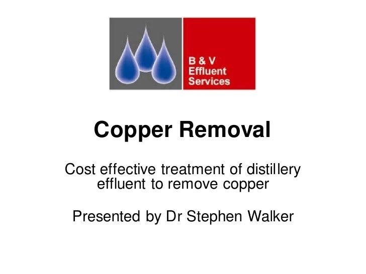 Copper presentation