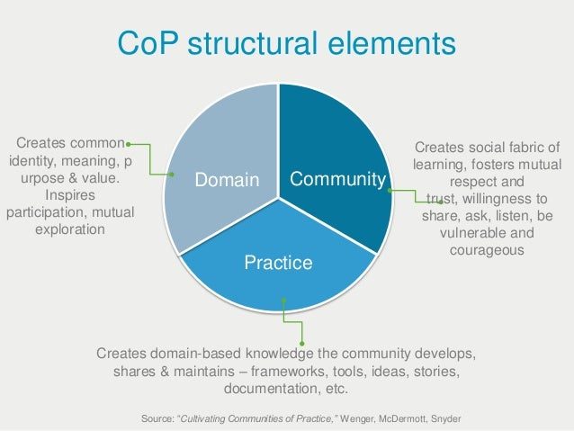 Image result for wenger three domains of practice