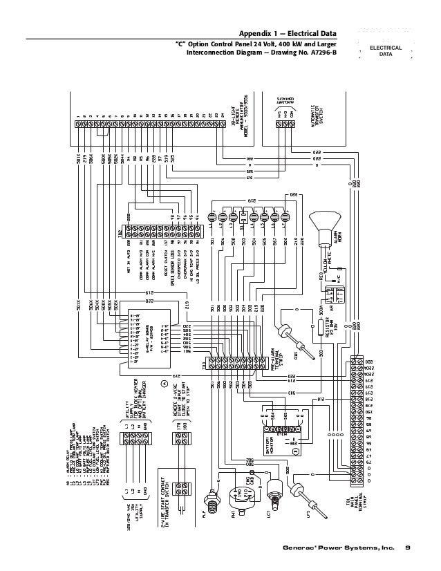 generac regulator diagram