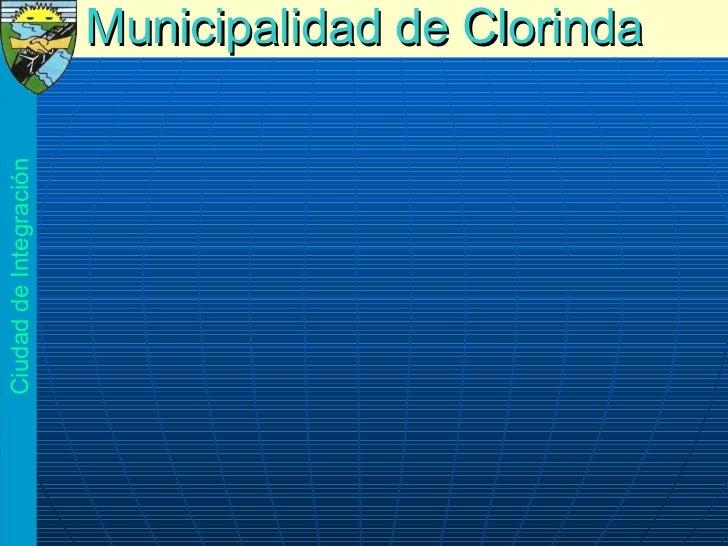 Municipalidad   de Clorinda Ciudad de Integración