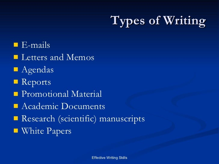 ways of writing application letter