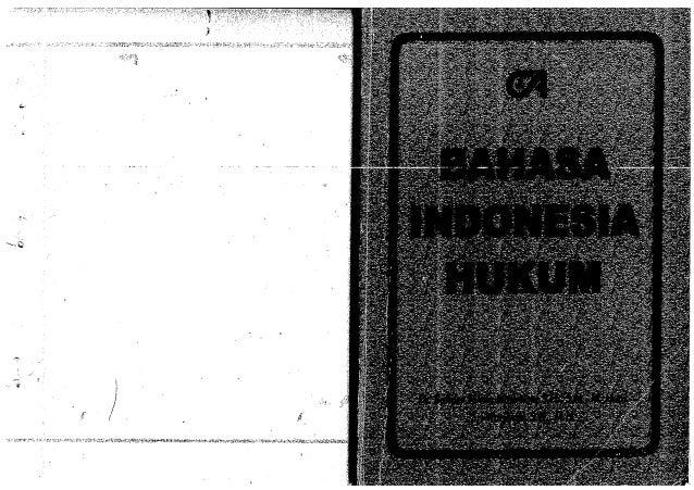Copy buku   bahasa indonesia hukum