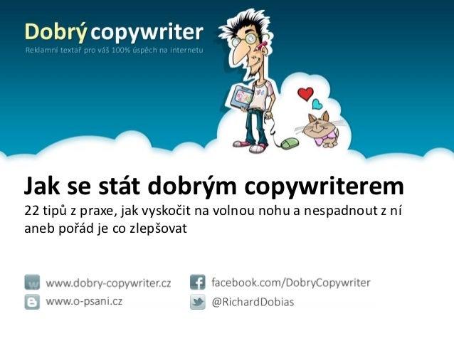 Jak se stát dobrým copywriterem / Copycamp
