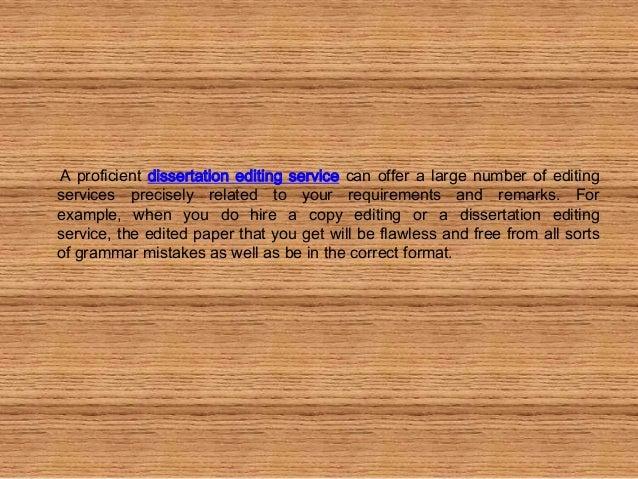 Copyediting service