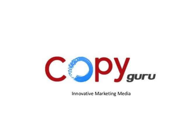 Innovative advertisement solutionInnovative Marketing Media