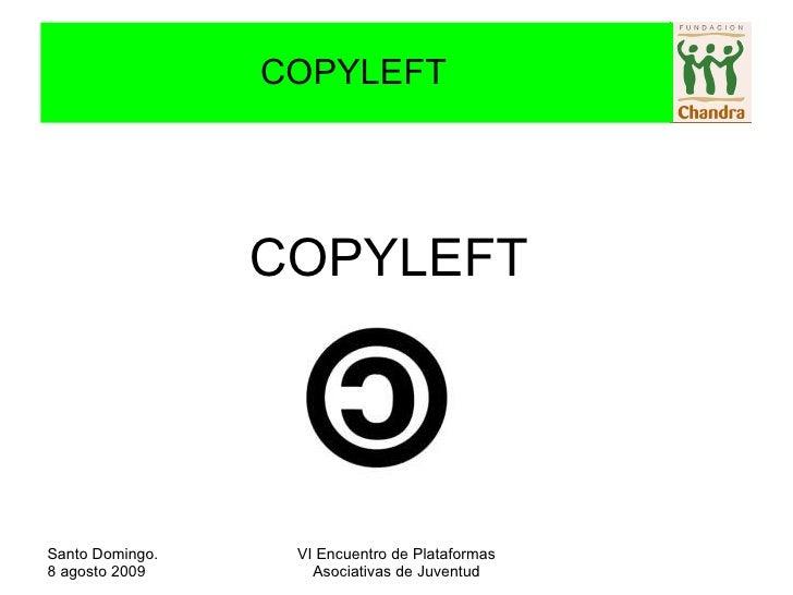 COPYLEFT COPYLEFT