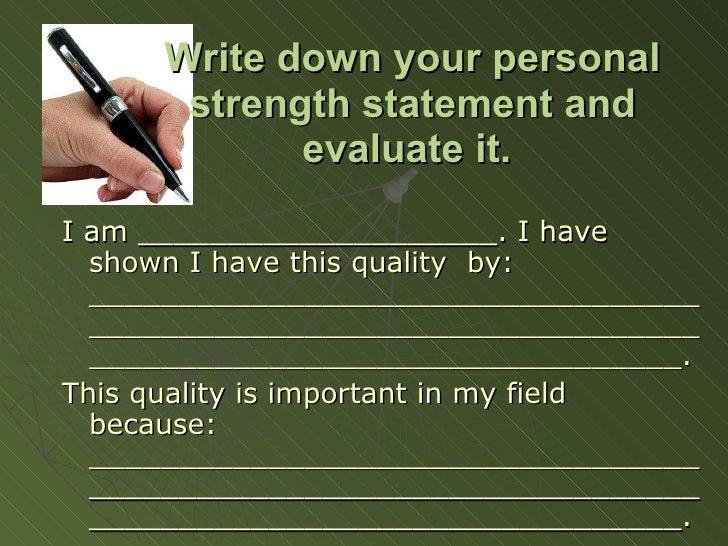 Write my essay strengths