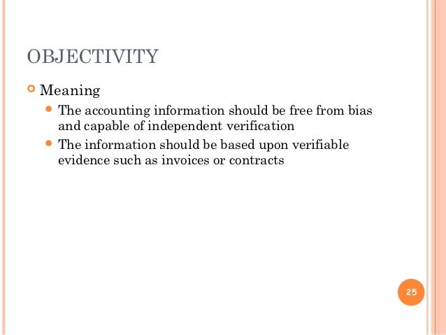 objectivity in research paper