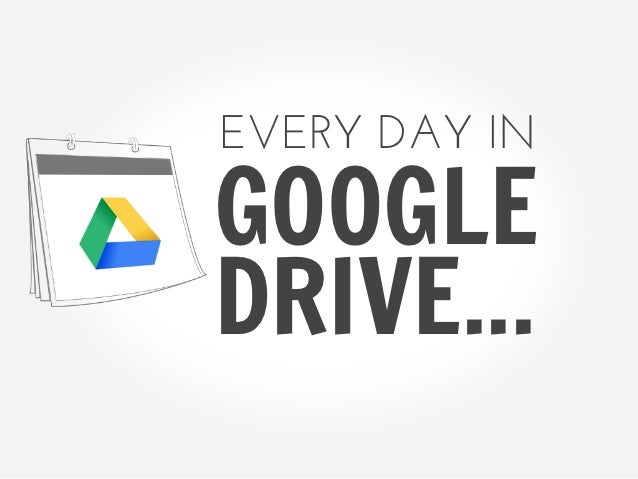 Copy of a day in the life of google drive