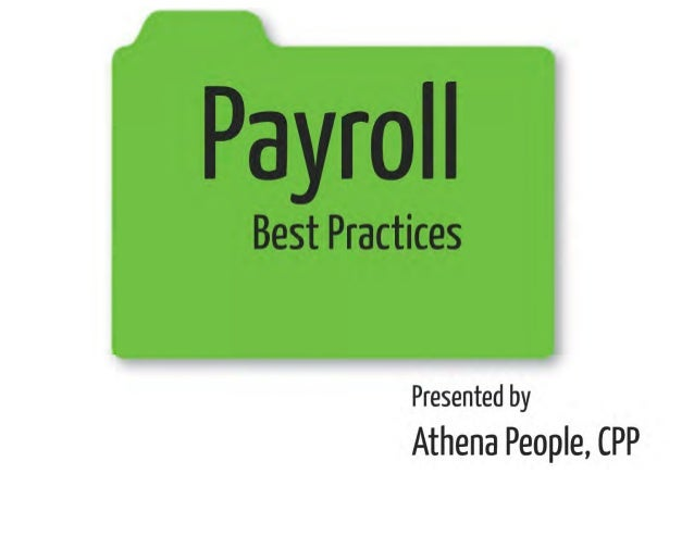 Payroll Best Practices – How to Avoid Common Pitfalls and Stay in Compliance