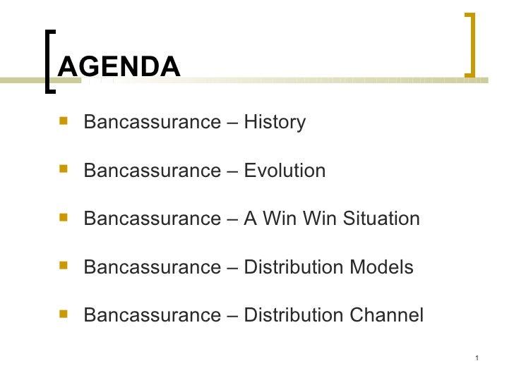 Bancassurance - History, Evolution & Distribution Model
