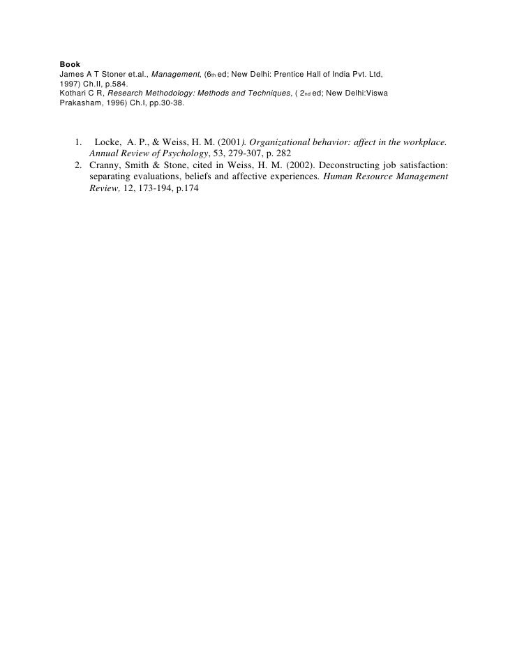 Book<br />James A T Stoner et.al., Management, (6th ed; New Delhi: Prentice Hall of India Pvt. Ltd,<br />1997) Ch.II, p.58...