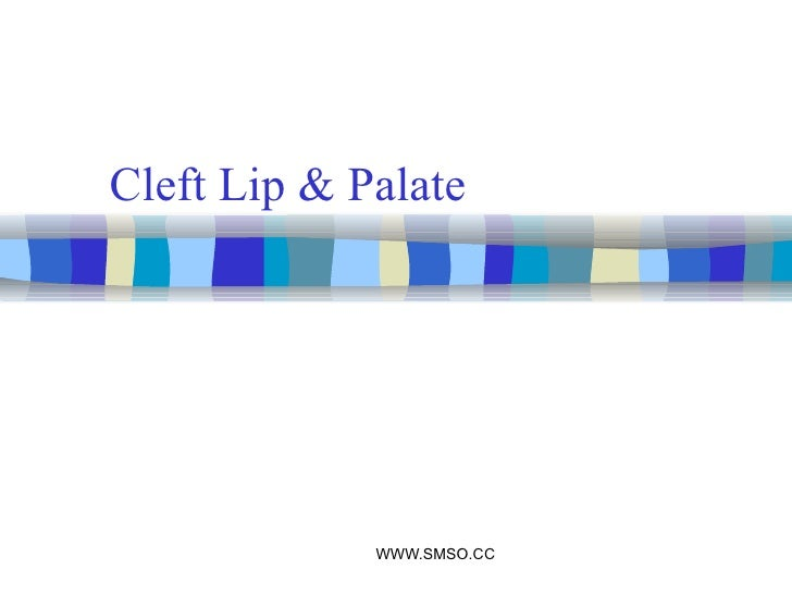 Copy of cleft lip & palate
