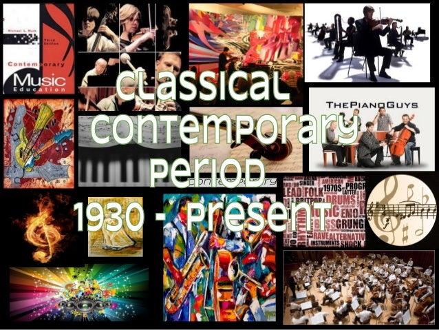 Copy of contemporary period