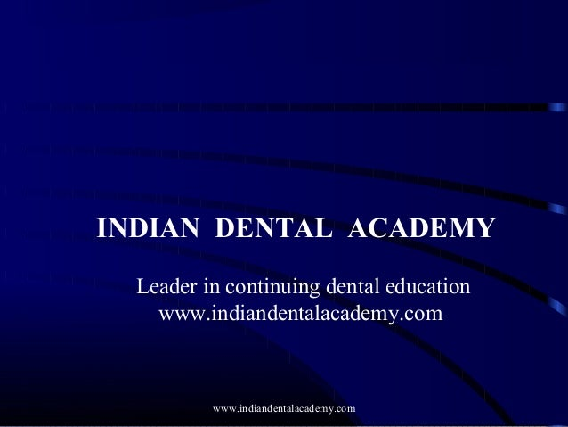 Copy of dental age sanjeev /certified fixed orthodontic courses by Indian dental academy