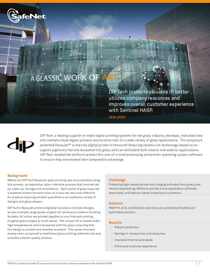 DIP Tech protects valuable IP, better                                                                                     ...