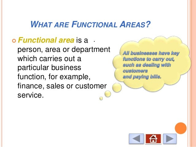 p4 functional areas in business The functional areas for business 1 p4 strategic planning p4 influencing factors p4 different aims the type of organisational structure for business 2 purpose of.