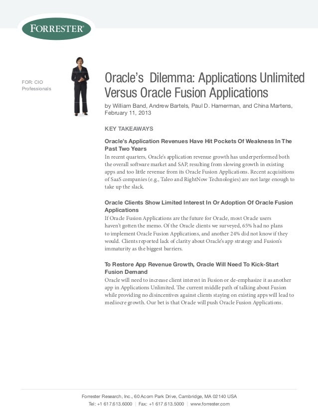 Copy of forrester oracles-dilemma