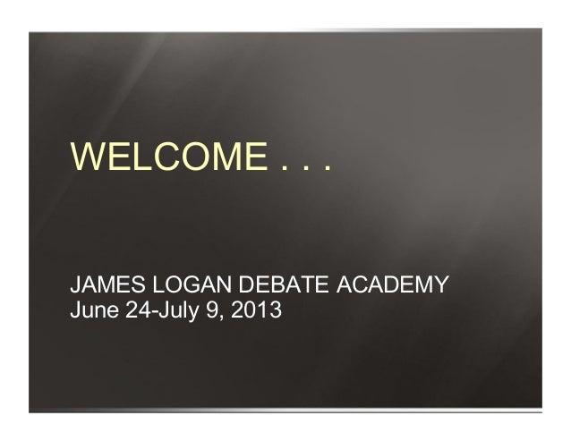 James logan forensics academy