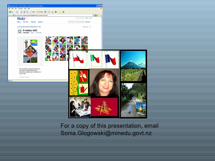 For a copy of this presentation, email  [email_address]