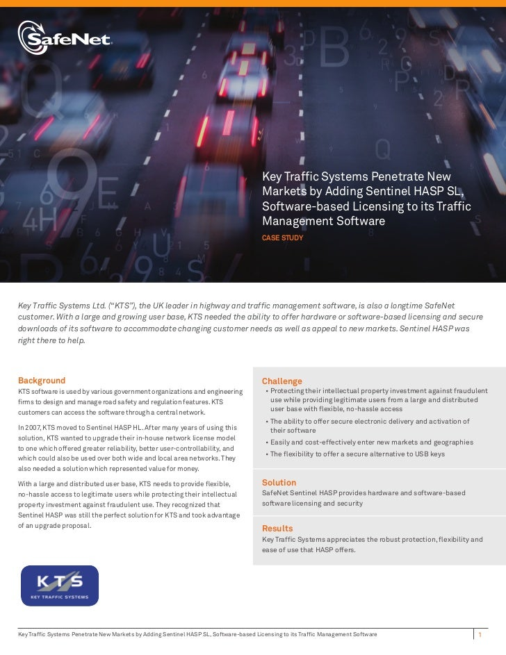 Key Traffic Systems Penetrate New                                                                                      Mark...