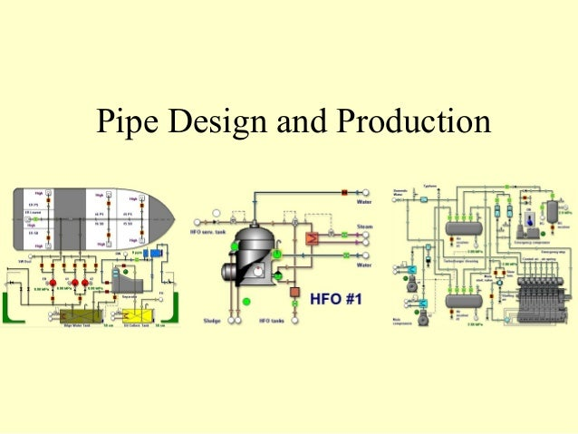 Marine piping systems