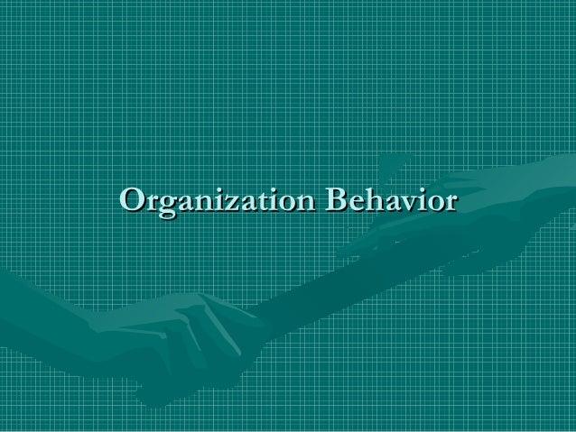 Copy of organization behavior2
