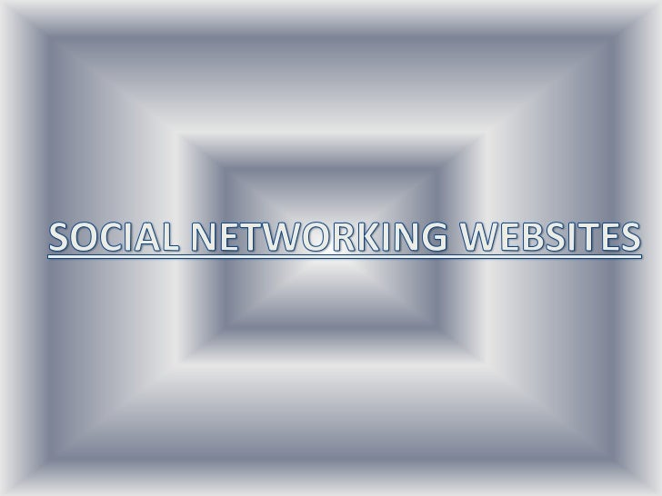 What is Social Networking? A social networking service is an online service, platform, or sitethat focuses on facilitating...