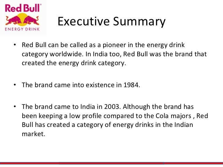 red bull energy drink essay Energy drink essay energy drink essay the energy drink industry which is dominated by red bull and v energy drinks is worth 151 million dollars and is growing.