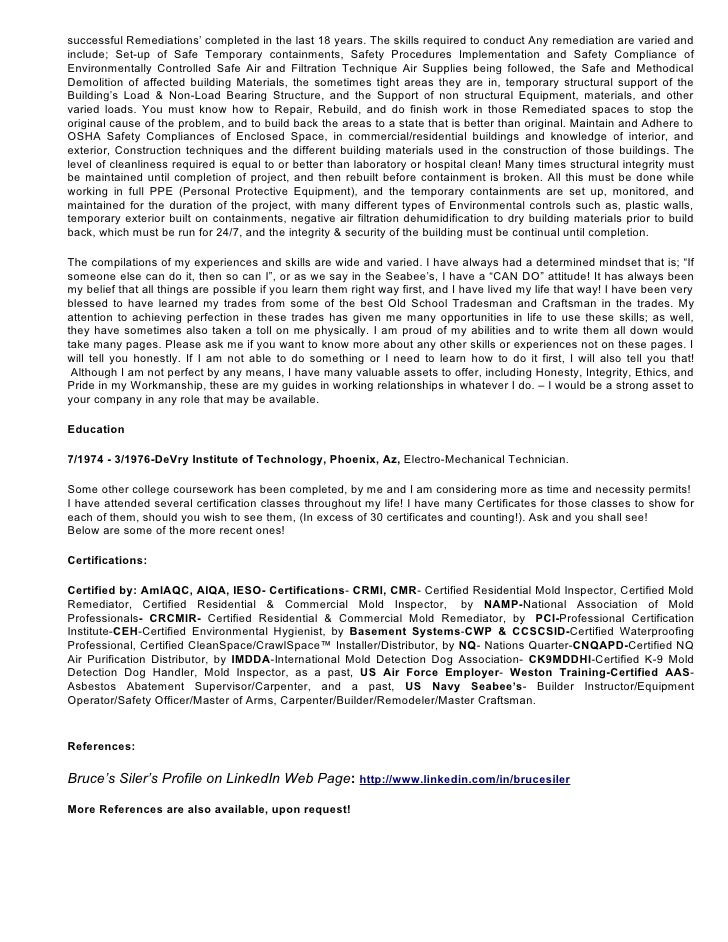 resume and cover letter for bruce siler word download looking for